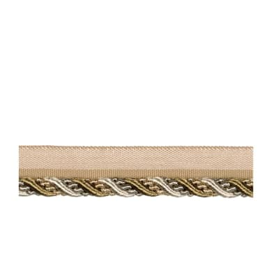 "Fabricut 5"" Repose Cord Trim Natural"