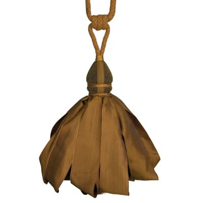 Fabricut Ribbondance Single Tassel Tieback Bronze