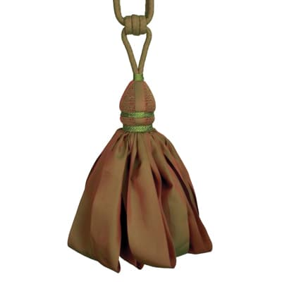 Fabricut Ribbondance Single Tassel Tieback Auburn