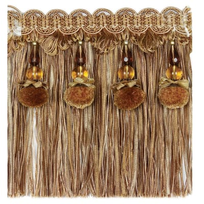 "Fabricut 6.25"" Sinead Bullion Fringe Butterscotch"