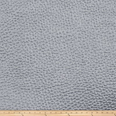 Fabricut Stainless Steel Faux Leather Zinc
