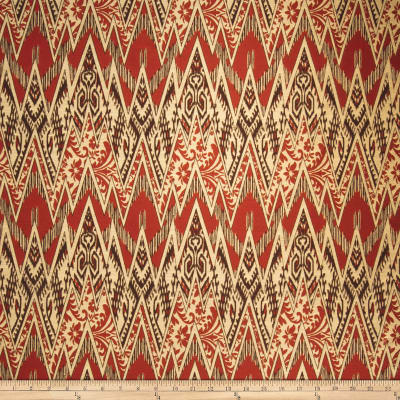 Fabricut Sumatra Poppy Brown
