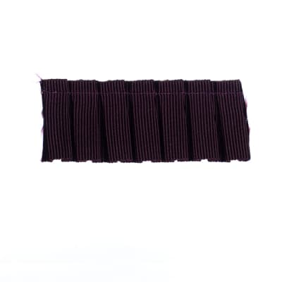 "Fabricut 1.25"" Switchfoot Trim Aubergine"