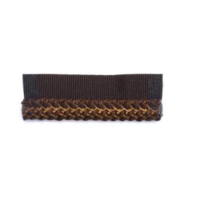 "Fabricut 3"" Tetley Cord Trim Coffee"