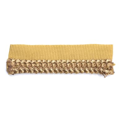 "Fabricut 3"" Tetley Cord Trim Honey"