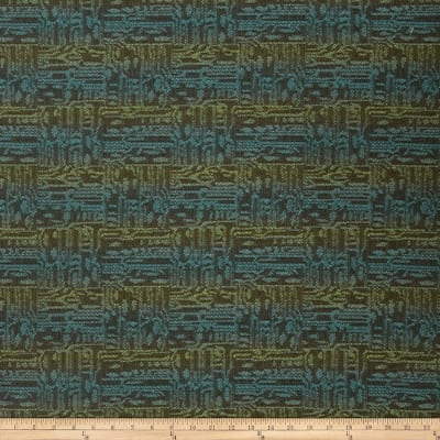 Fabricut Topnotch Jacquard Deep Sea