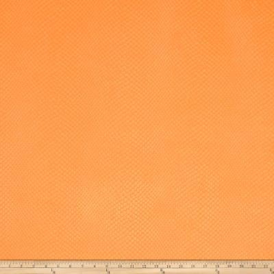 Fabricut Unanderra Faux Leather Orange Crush