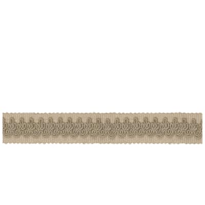 "French General 1"" Vanesque Trim Bisque"