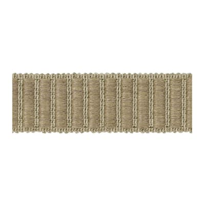 "Fabricut 1.5"" Winnowing Trim Seagrass"