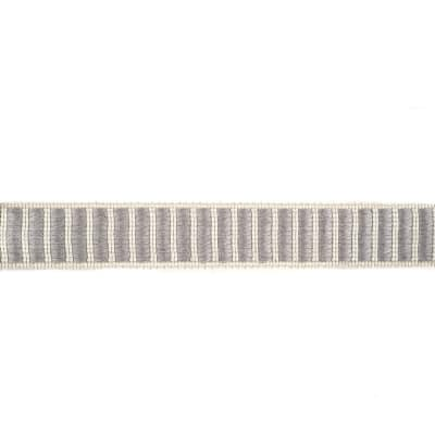 "Fabricut 1.5"" Winnowing Trim Platinum"