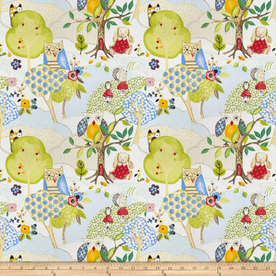 Fabricut Woodland Friends Summer