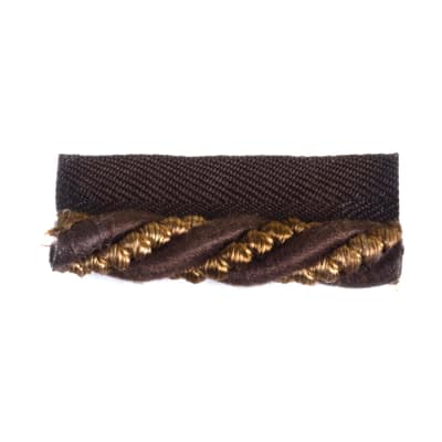 "Fabricut 1"" Zapelle Cord Trim Chocolate"