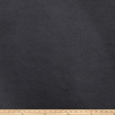 Fabricut Zinc Faux Leather Ebony
