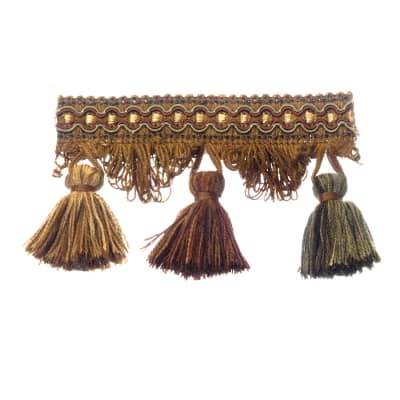 Trend 01244 Tassel Fringe Curry