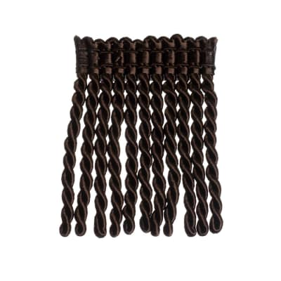 "Trend 4.25"" 01421 Bullion Fringe Chocolate"