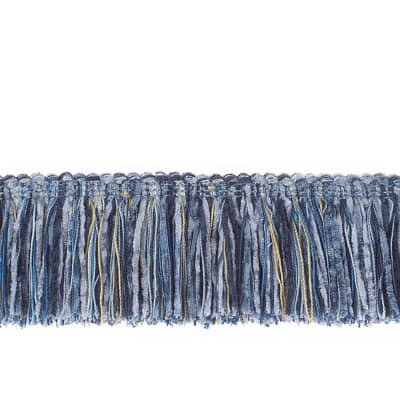 "Trend 2.25"" 01464 Brush Fringe Cobalt"