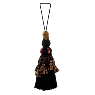 "Trend 1.025"" 01465 Key Tassel Peppercorn"