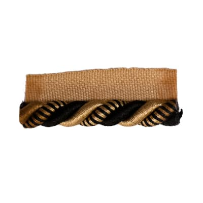 "Trend 1"" 01740 Cord Trim Black Gold"