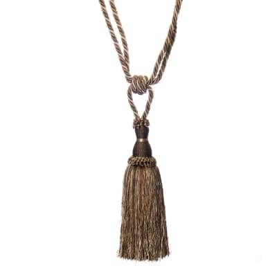 "Trend 25"" 01749 Single Tassel Tieback Suede"