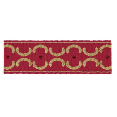 "Jaclyn Smith 1.75"" 01872 Trim Red"
