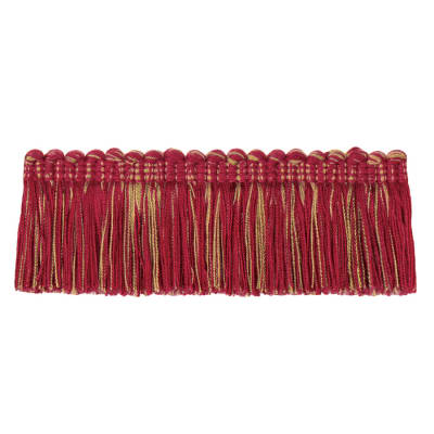 "Jaclyn Smith 2"" 01875 Brush Fringe Red"