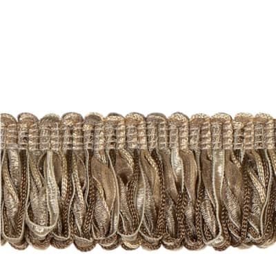 "Jaclyn Smith 1.75"" 02109 Loop Fringe Linen"