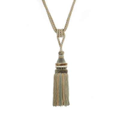 "Trend 32"" 02500 Single Tassel Tieback Surf"
