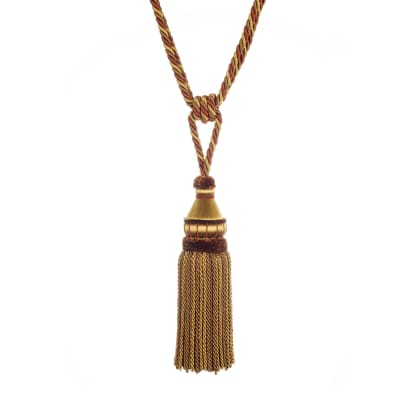 "Trend 32"" 02500 Single Tassel Tieback Spice"
