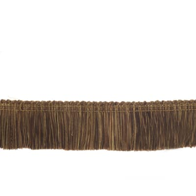 "Trend 2"" 02659 Brush Fringe Chocolate"