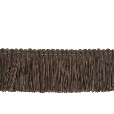 "Trend 2"" 02868 Brush Fringe Chocolate"