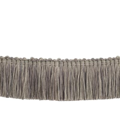 "Trend 2"" 02868 Brush Fringe Steel"