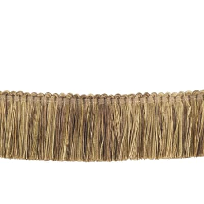 "Trend 2"" 02868 Brush Fringe Camel"
