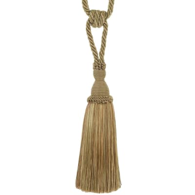 "Trend 29"" 02871 Single Tassel Tieback Camel"
