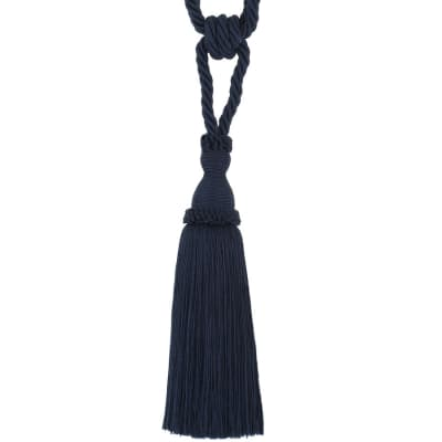 "Trend 29"" 02871 Single Tassel Tieback Navy"