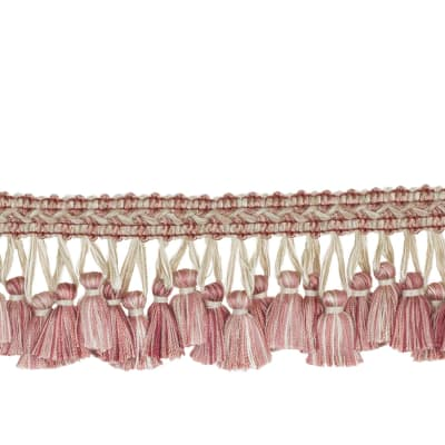"Jaclyn Smith 2.75"" 02926 Tassel Fringe Blush"