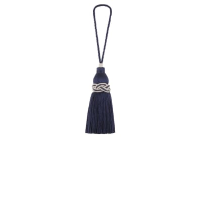 "Jaclyn Smith 9"" 03945 Key Tassel Aegean"