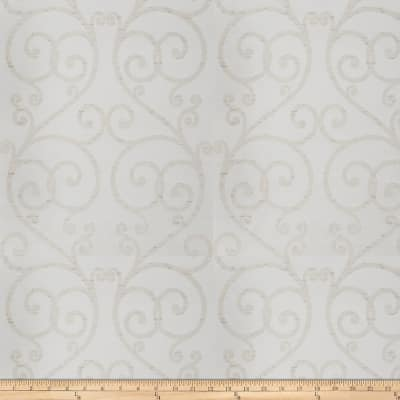 Trend 04028 Faux Silk White Sparkle
