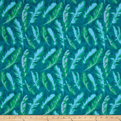 Nel Whatmore Ghost Feather Green