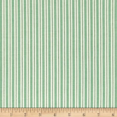 Riley Blake Kewpie Christmas Stripes Green