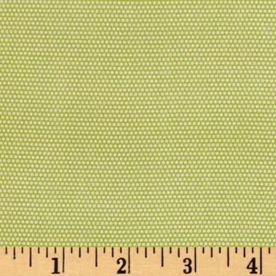 Penny Rose Linen and Lawn Dot Green