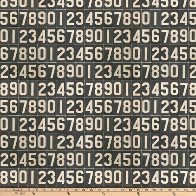 Tim Holtz Dapper Numbers Black
