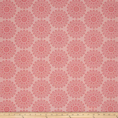 Riley Blake Daisy Days Doily Pink