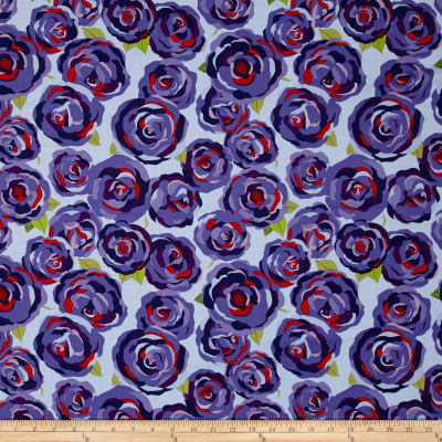 Penny Rose Coming up Roses Main Blue
