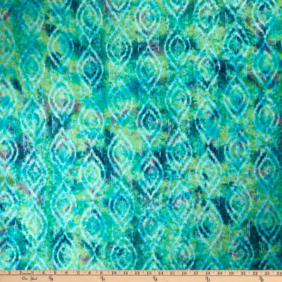 Indian Batik Diamond Ikat Teal