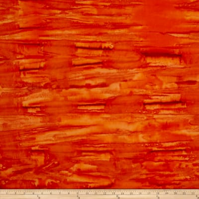 Indian Batik Horizontal Blender Orange