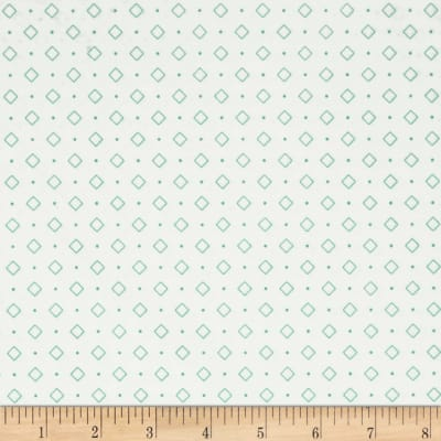 Riley Blake Bee Backgrounds Diamond Turquoise