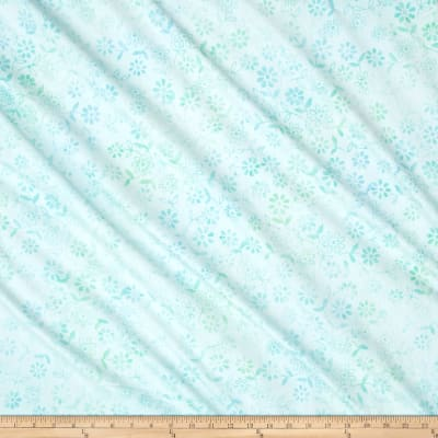Anthology Batik Floral Pastel Aqua