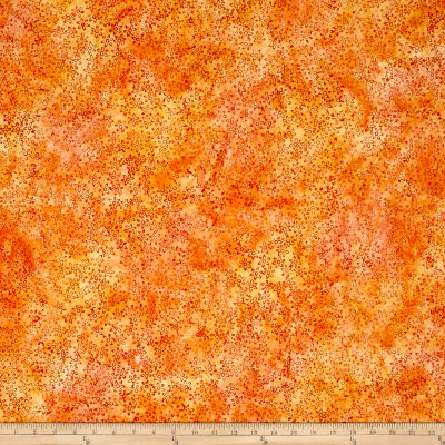 Anthology Batik Flowers Orange/Yellow
