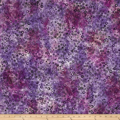 Anthology Batik Circles Purple