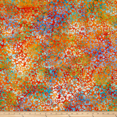 Anthology Batik Floral Orange/Blue